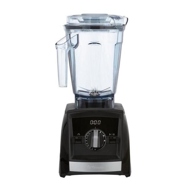 A2500 Blender Black, 10-speed control, 64 oz. container