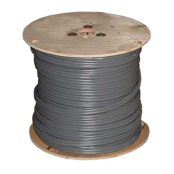 1,000 ft. 12/2 Gray Solid CU UF-B W/G Wire