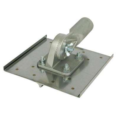 10 in. x 10 in. Stainless Steel Walking Chicago Groover 3/4 in. Radius 7/8 in. depth