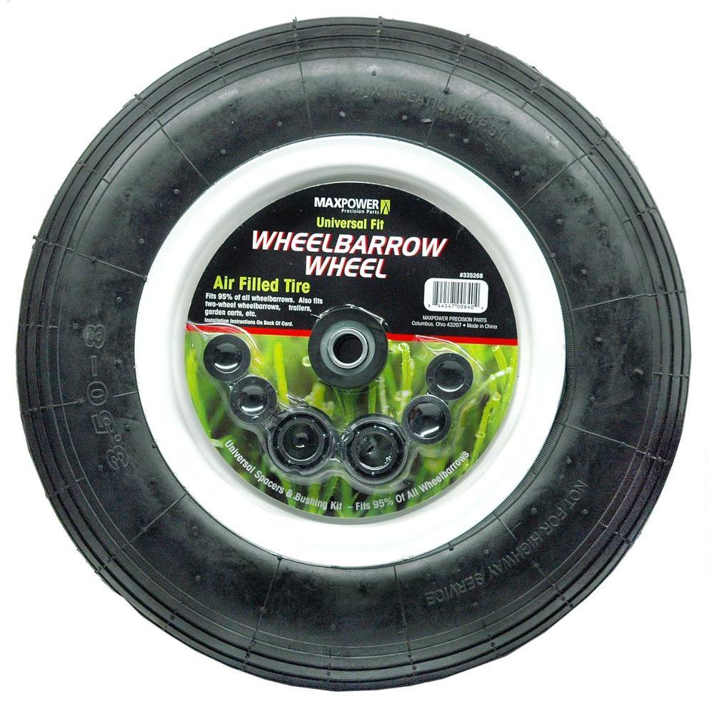 Maxpower Universal Wheelbarrow Wheel by Maxpower