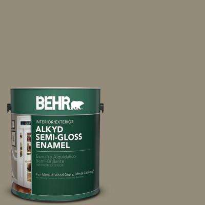 1 gal. #770D-5 Carriage Door Semi-Gloss Enamel Alkyd Interior/Exterior Paint