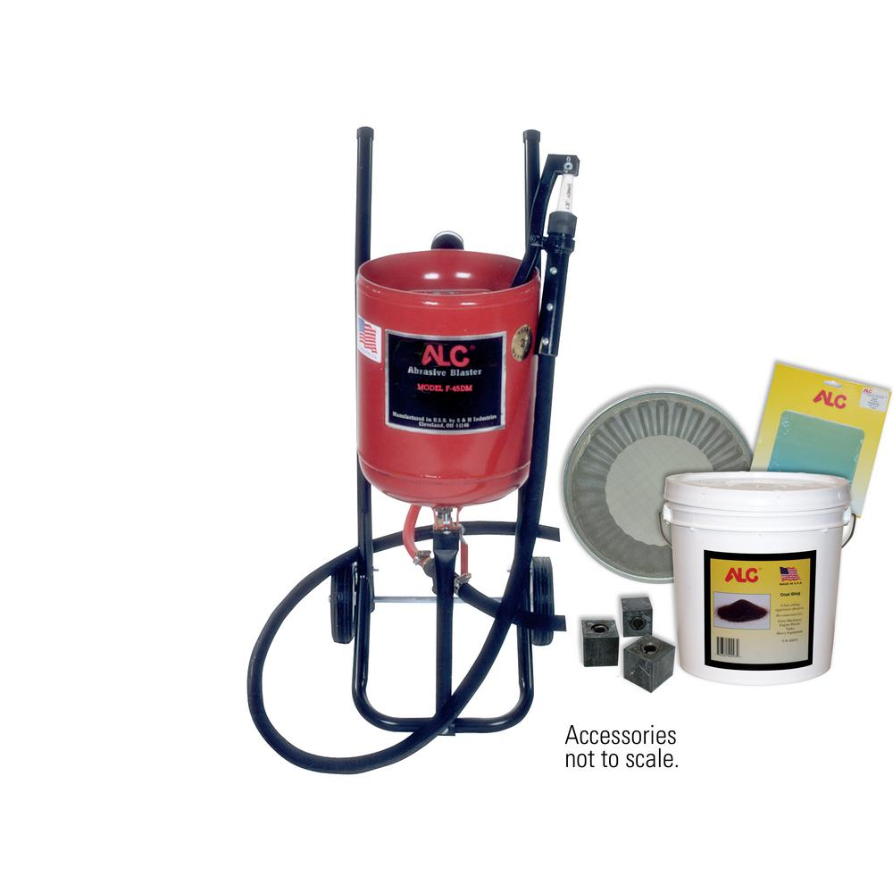 45 lbs. Portable Pressure Abrasive Blaster with Starter Kit