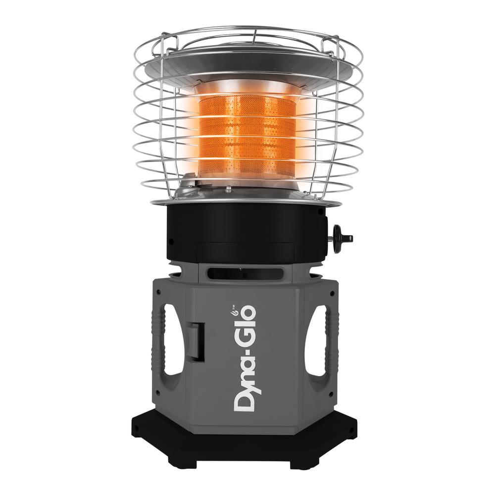 Dyna-Glo 18K BTU HeatAround 360 ELITE Portable Propane Heater in Black by Dyna-Glo