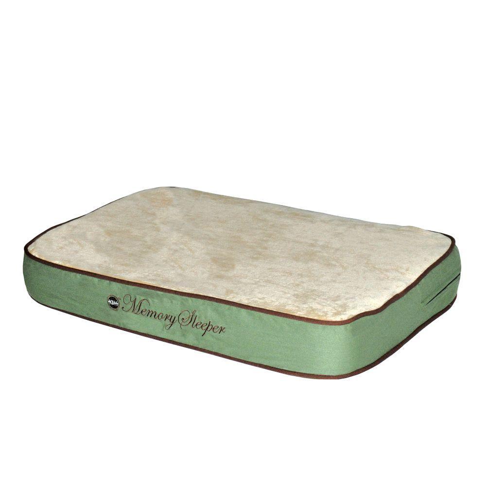 Memory Sleeper Small Sage Dog Bed