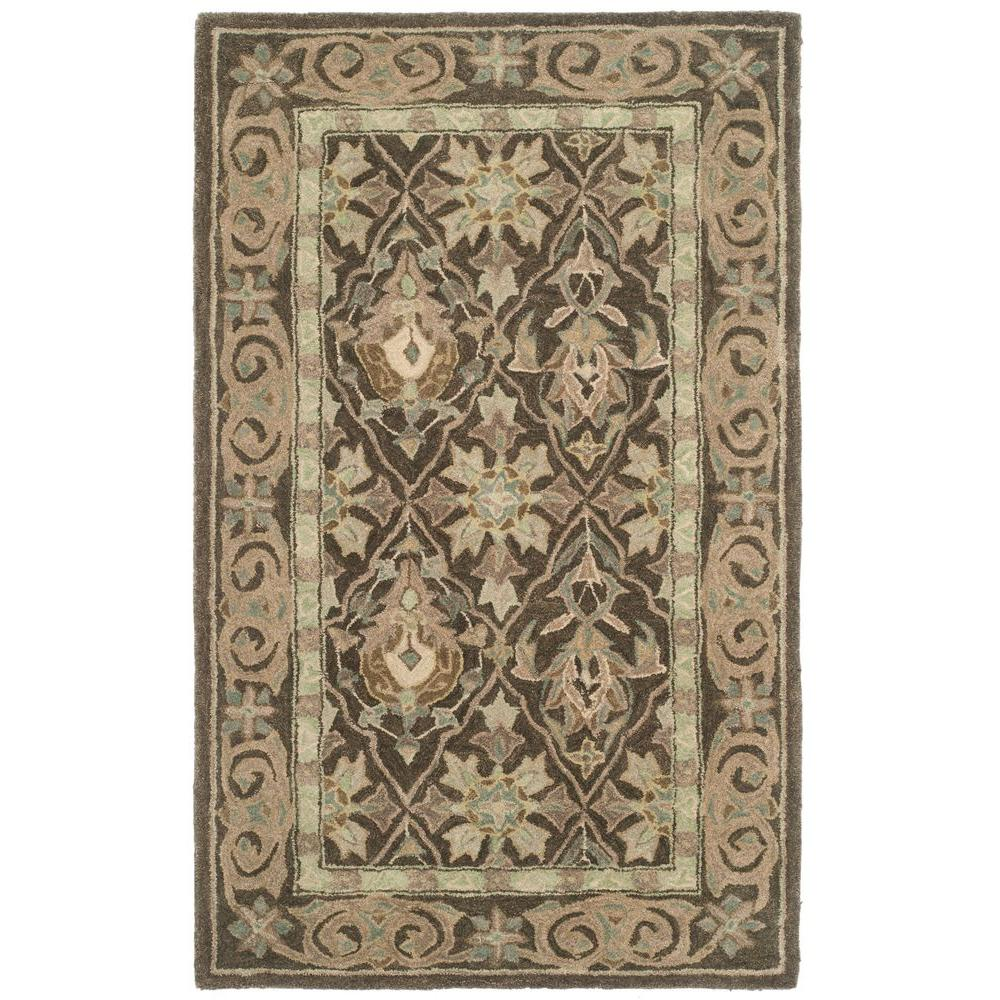 Anatolia Brown/Beige 3 ft. x 5 ft. Area Rug