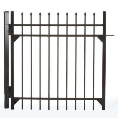 Clinton 4 ft. W x 4 ft. H Aluminum Walk Single Fence Gate