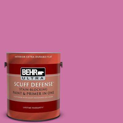 1 gal. #P120-4 Heart Breaker Extra Durable Flat Interior Paint and Primer in One