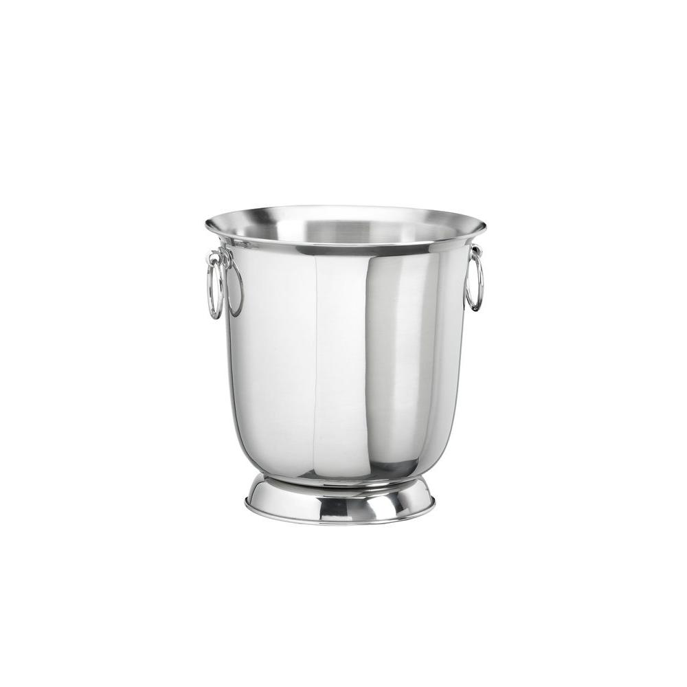Kraftware Traditional Polished Stainless Steel Champagne Bucket-DISCONTINUED