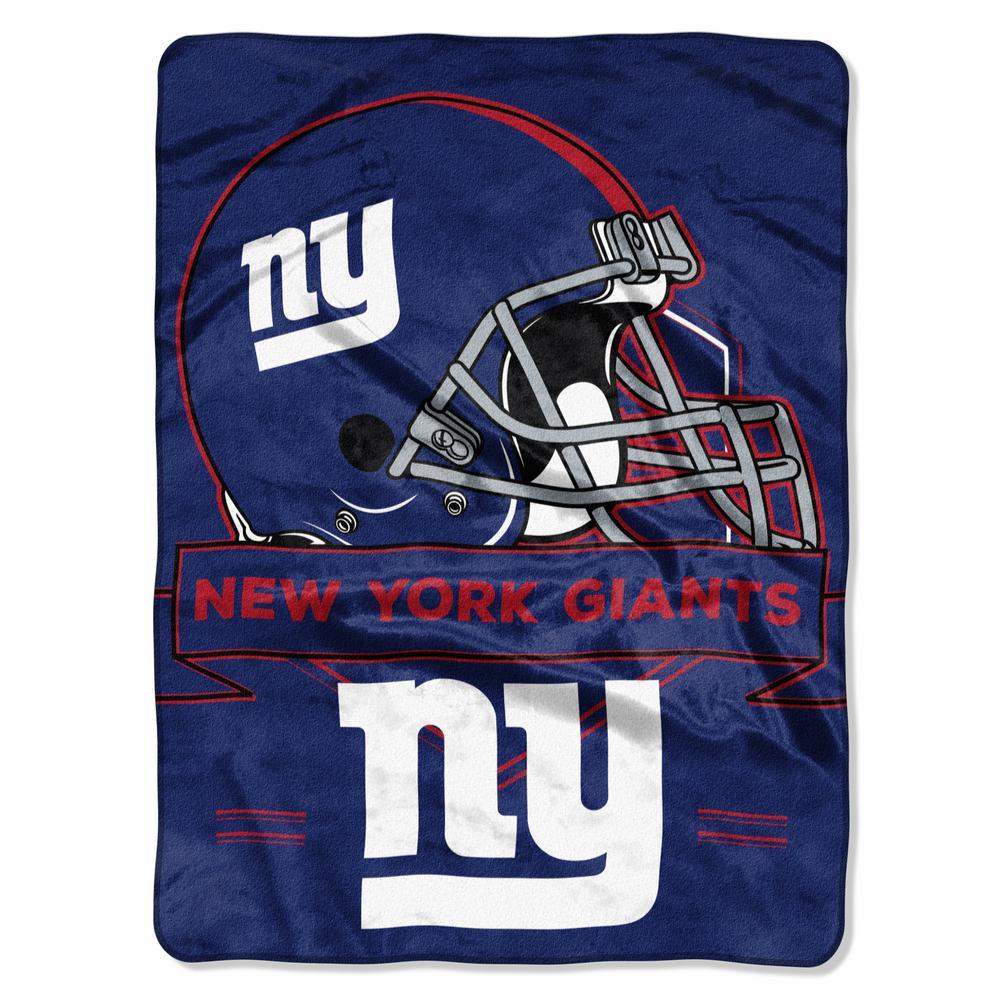 49c069539d5 NY Giants Multi-Color Polyester Prestige Raschel-1NFL080710081RET - The  Home Depot