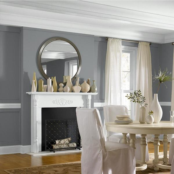 Reviews For Behr Marquee 1 Gal Ppu26 03 Legendary Gray Matte Interior Paint Primer 145401 The Home Depot