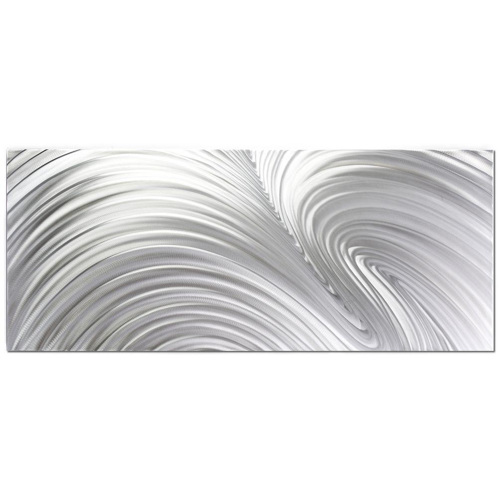 Filament Design Brevium 20 in. x 48 in. Fusion Metal Wall Art