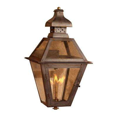 outdoor lantern lighting. maryville 23 in outdoor washed pewter gas wall lantern lighting