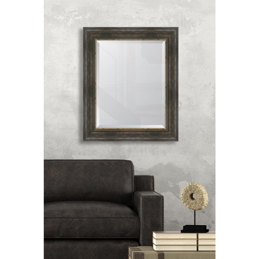 Melissa van hise 30 5 in x 36 5 in framed black bronze for 4 x 5 wall mirror