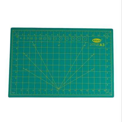 12 in. x 18 in. 5-Layer Self Healing and Long Lasting Cutting Mat, Green