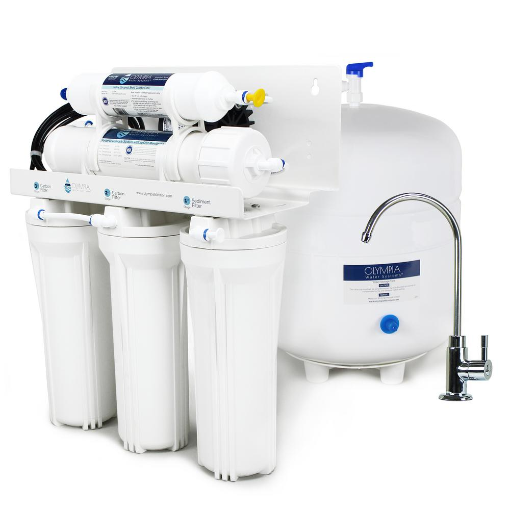 Olympia Water Systems Permeate Pump Under Sink Reverse