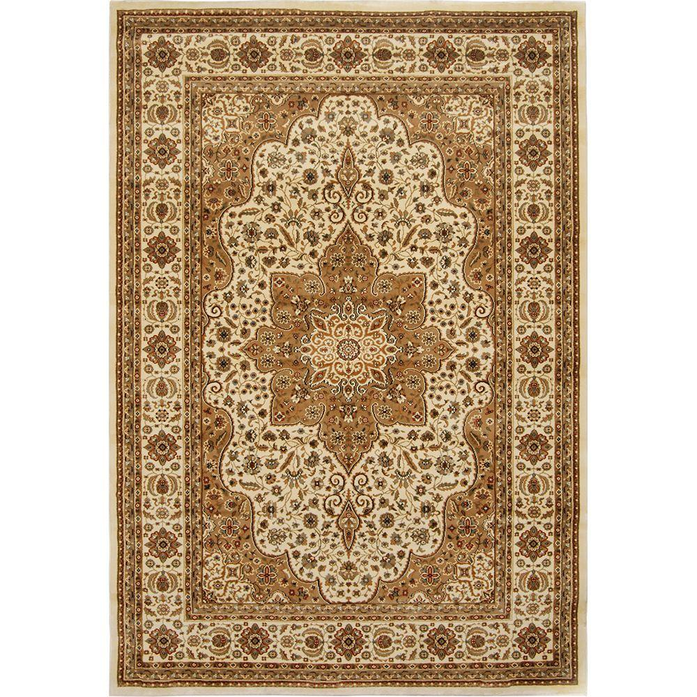 Home Dynamix Triumph Beige 5 Ft X 8 Ft Indoor Area Rug 2