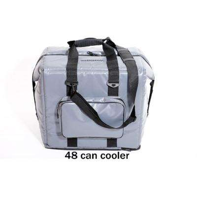 Worlds First 48-Can Magnetic Gray Vinyl Cooler