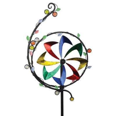 75 in. Spinner Metal/Glass Vine