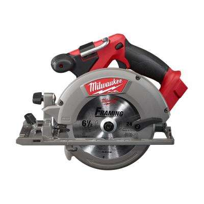 M18 FUEL 18-Volt Lithium-Ion Brushless Cordless 6-1/2 in. Circular Saw (Tool-Only)