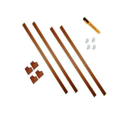 60 in. x 60 in. Royal Oak Contemporary Complete Installation Kit