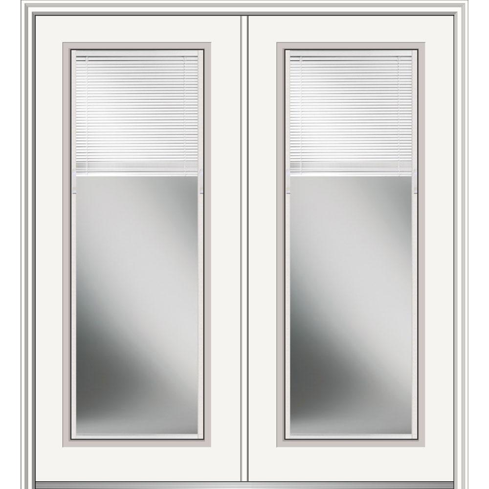 Blinds between the glass double door fiberglass doors front low e glass internal blinds full lite right eventshaper
