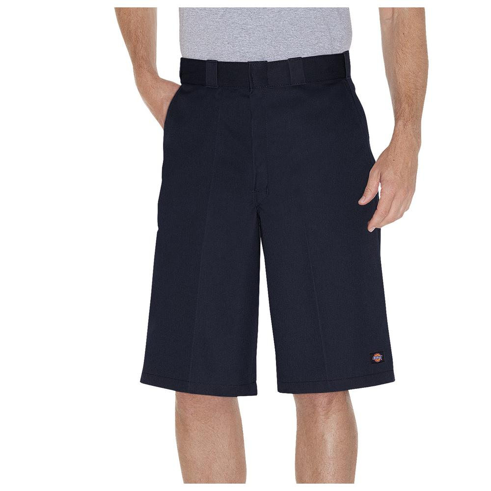 Dickies Men's Dark Navy 13 in. Loose Fit Multi-Use Pocket Work Short