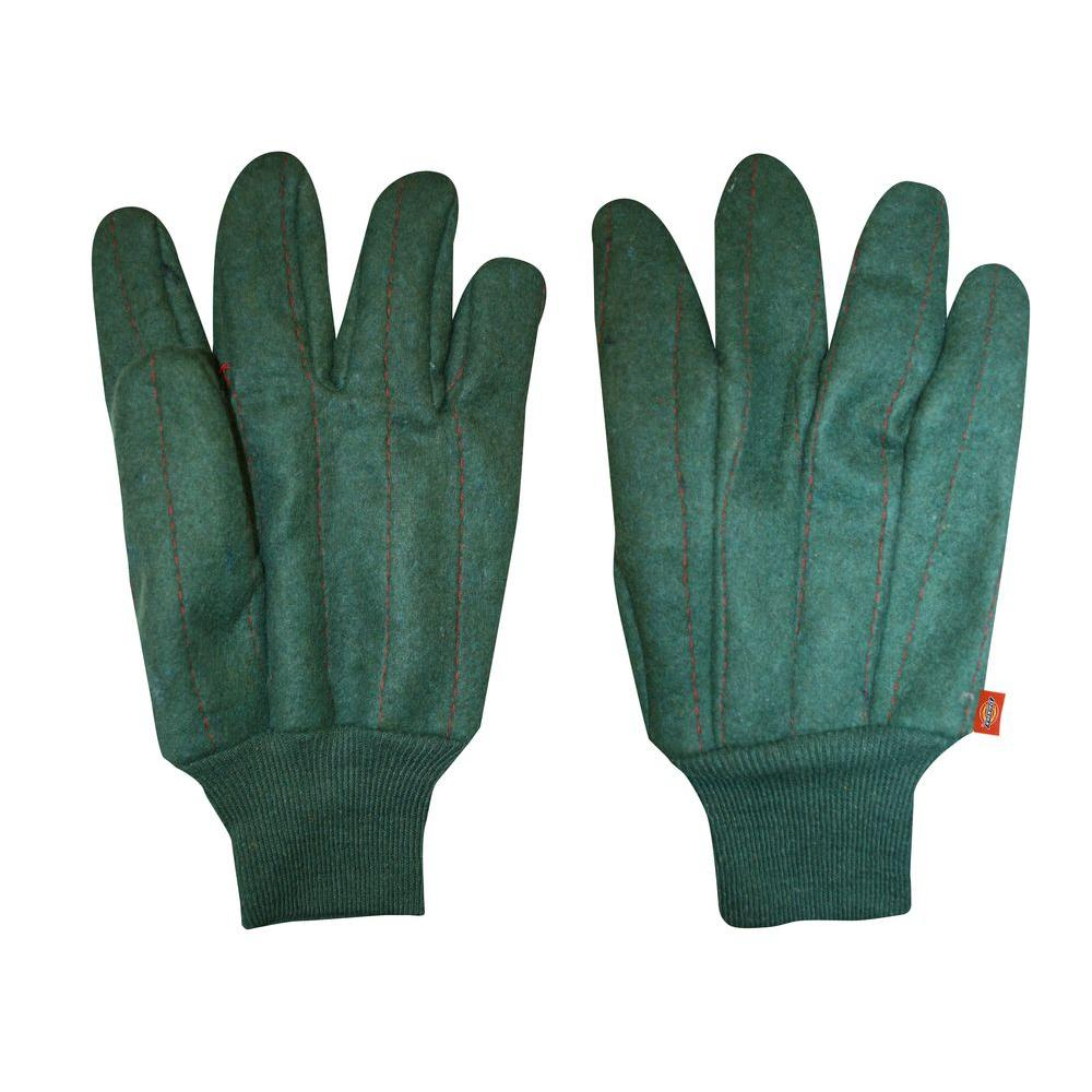 Dickies Heavyweight Quilted Green Chore Glove