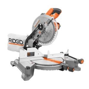 Ridgid 15 Amp 10 In Compound Miter Saw R4110 The Home Depot