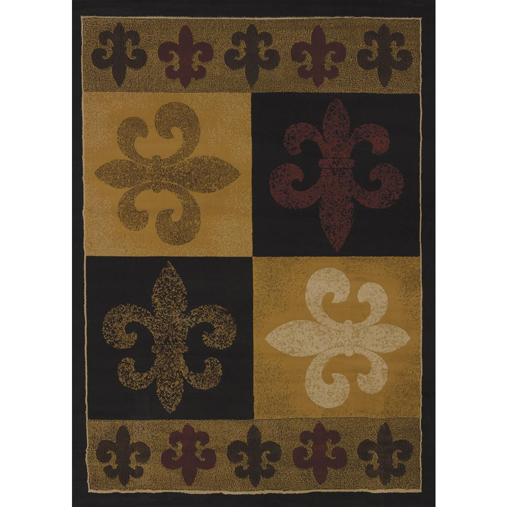 United Weavers China Garden French Quarter Olive 1 ft. 10 in. x 3 ft ...