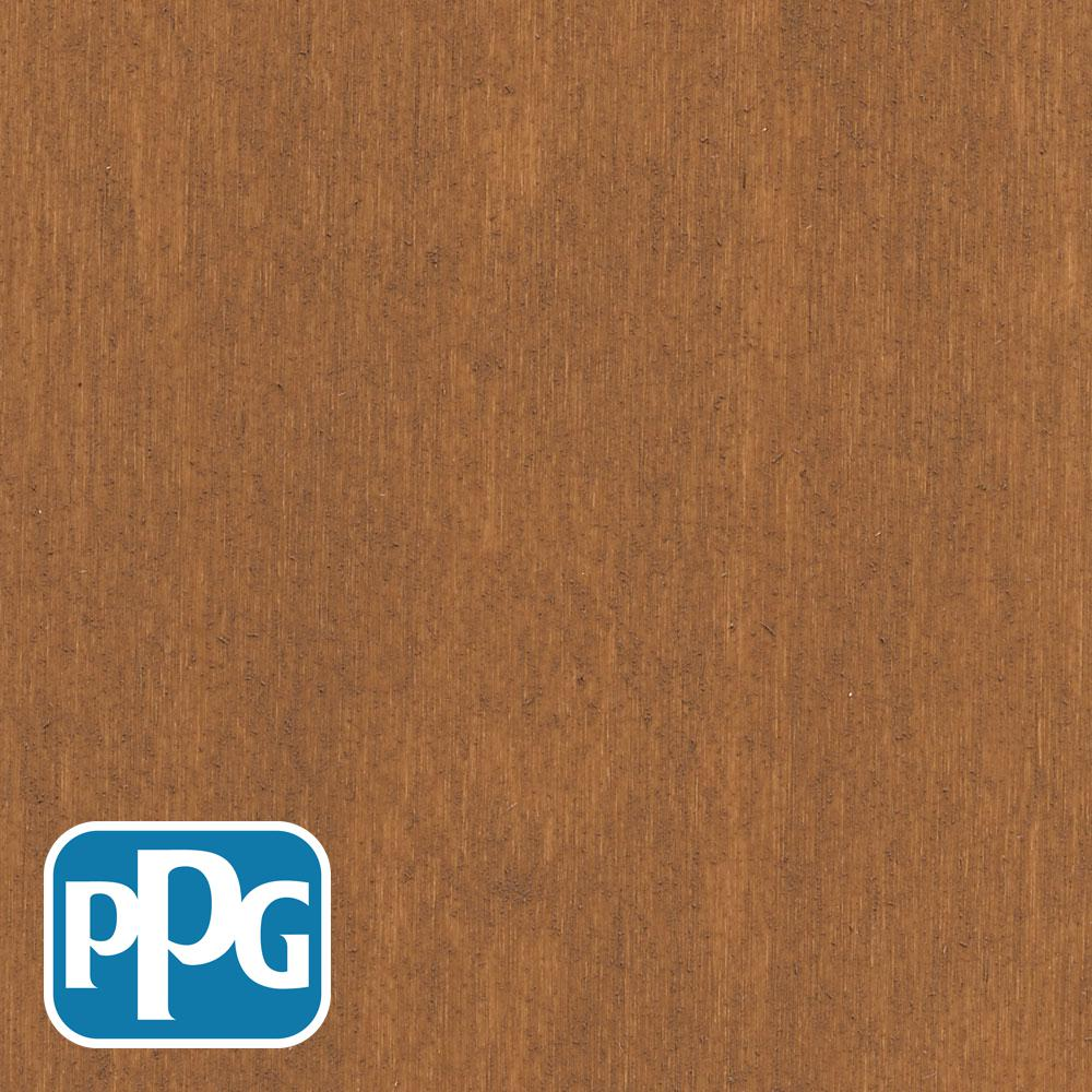 PPG TIMELESS 1 gal. TSS-2 Cedar Semi-Solid Penetrating Oil Exterior Wood Stain