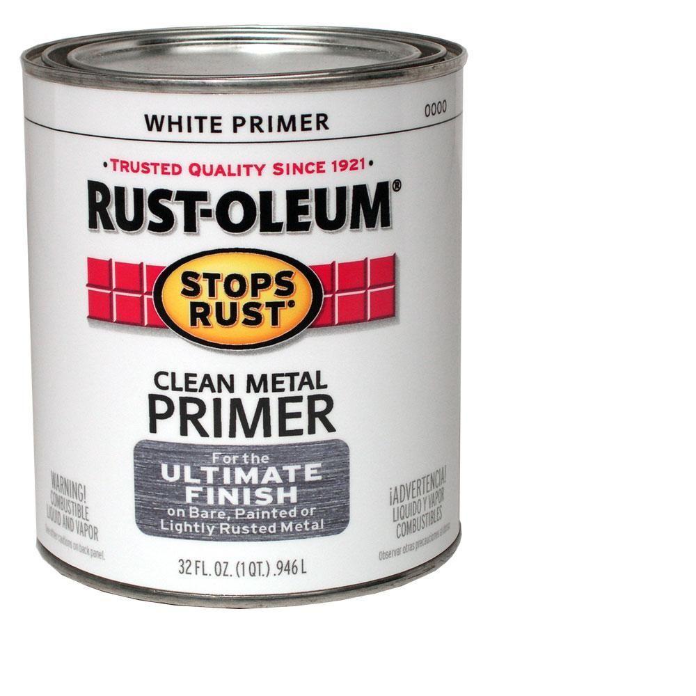 Flat White Clean Metal Primer