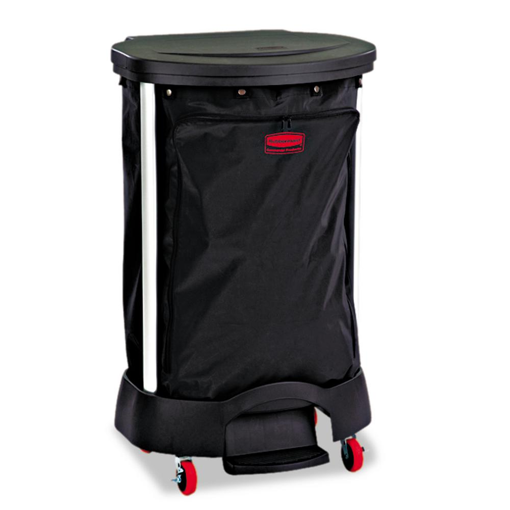 Rubbermaid Commercial Products 30 Gal Black Premium Linen