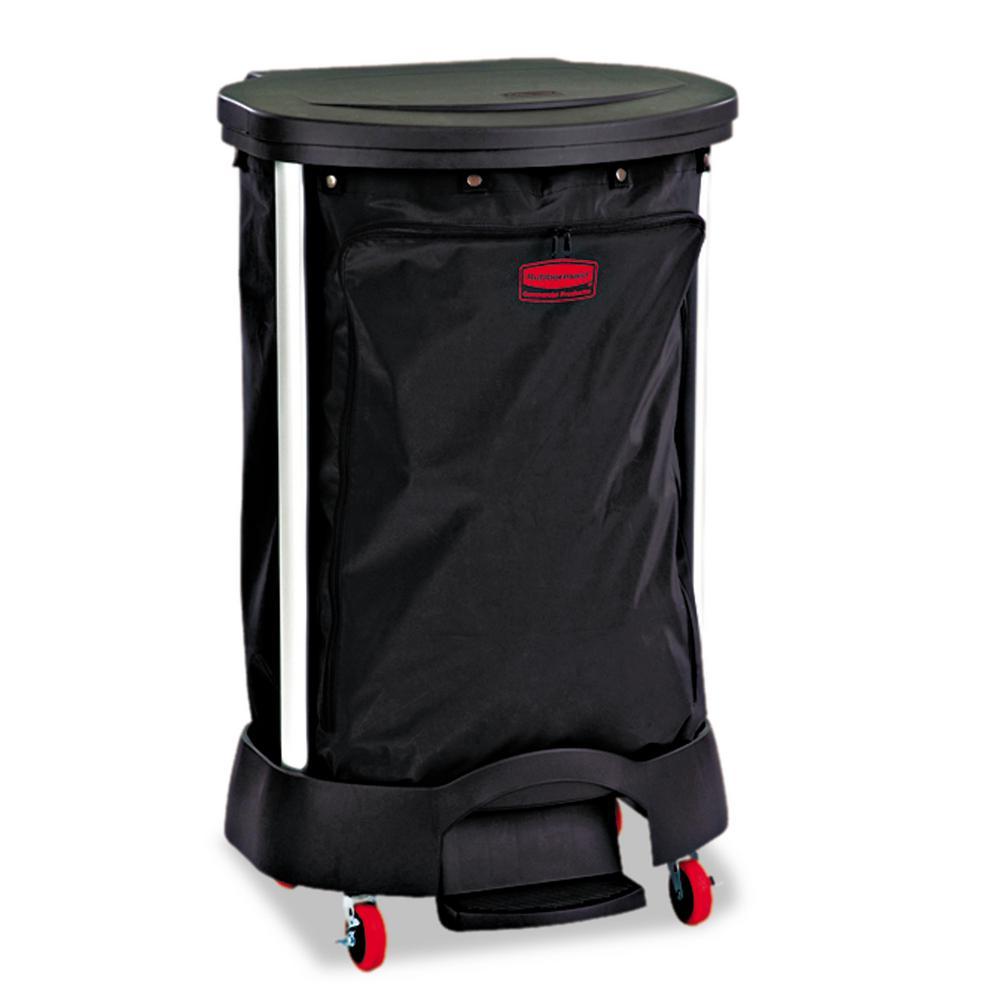 30 Gal. Black Premium Linen Hamper Bag