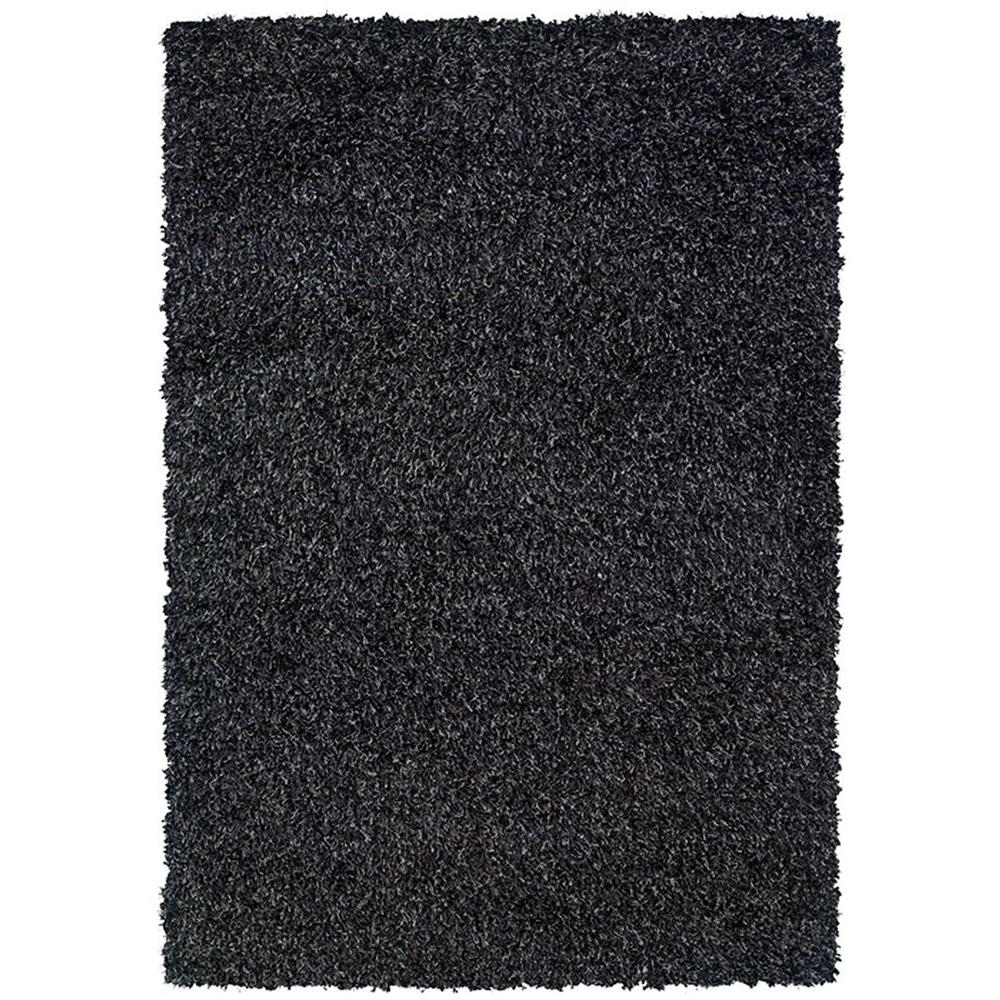 LR Resources OMG Kiss Smoke 5 ft. 3 in. x 7 ft. 6 in. Plush Indoor Area Rug