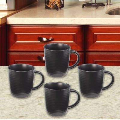 4-Piece 10 oz. Cafeware Mug Set