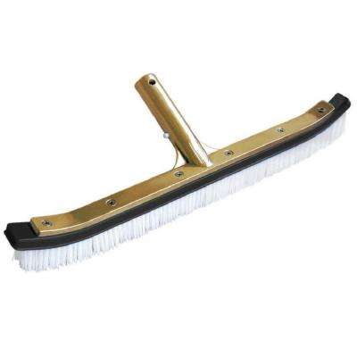 18 in. Deluxe Metal Back Wall Brush