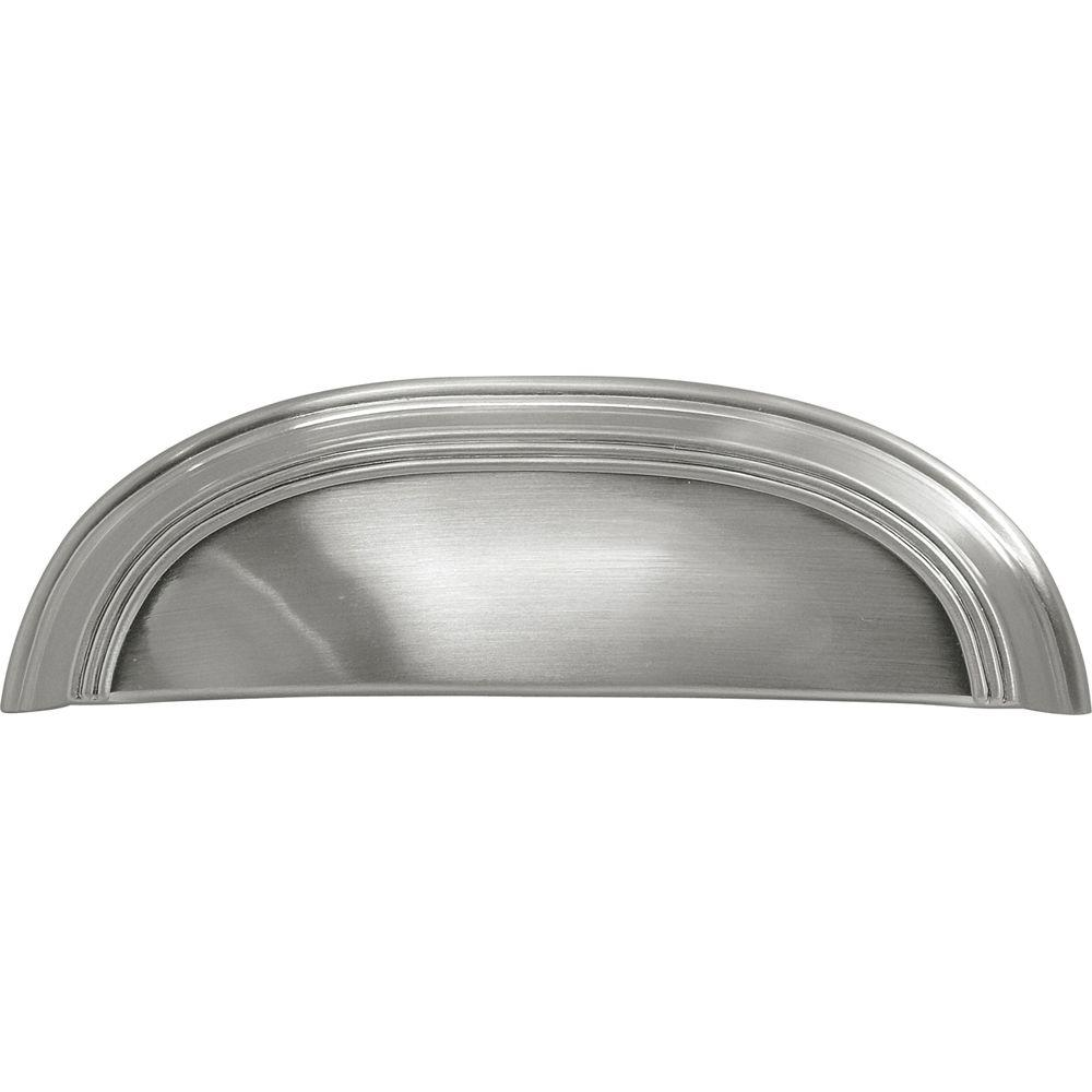 Hickory Hardware American Diner 3 In Satin Nickel Cup Pull