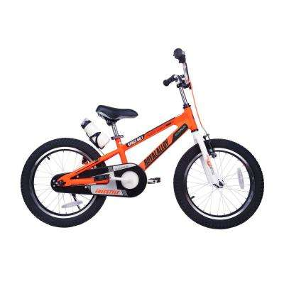 Space No. 1 Aluminum Kids Bikes 18 in. Wheels in Orange