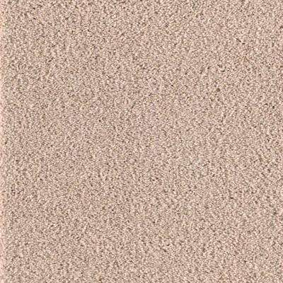 San Rafael I (S) - Color Beige Twill Texture 12 ft. Carpet