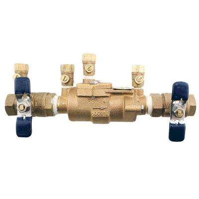 3/4 in. Bronze Double Check Valve Assembly