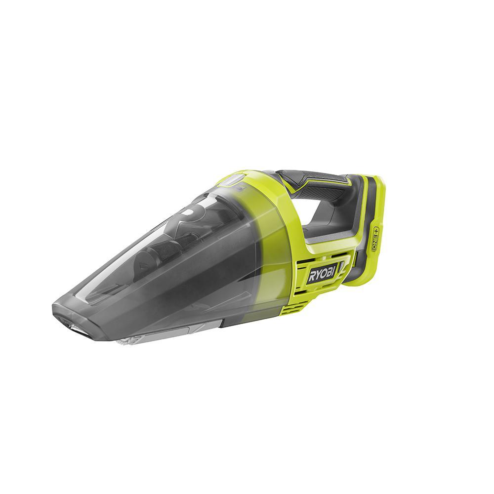 RYOBI 18-Volt ONE+ Lithium-Ion Cordless Hand Vacuum (Tool-Only)