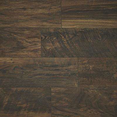 Take Home Sample - Copper Wood Fusion Laminate Flooring - 5 in. x 7 in.