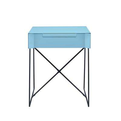 Gualacao Teal End Table
