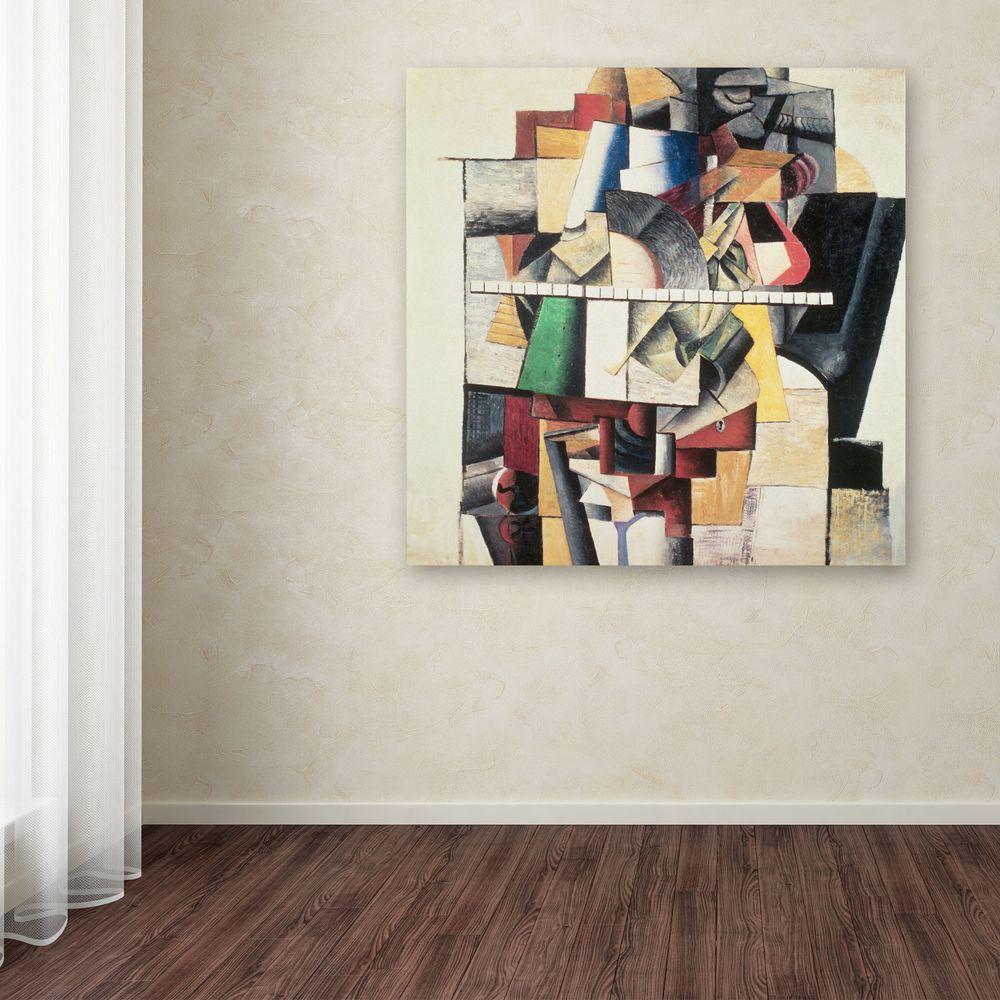 Trademark Fine Art 24 in. x 24 in. M. Matuischin Canvas Art