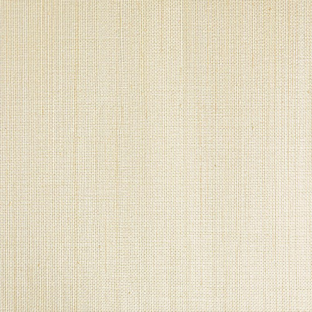 Stelios Grey Grasscloth Wallpaper