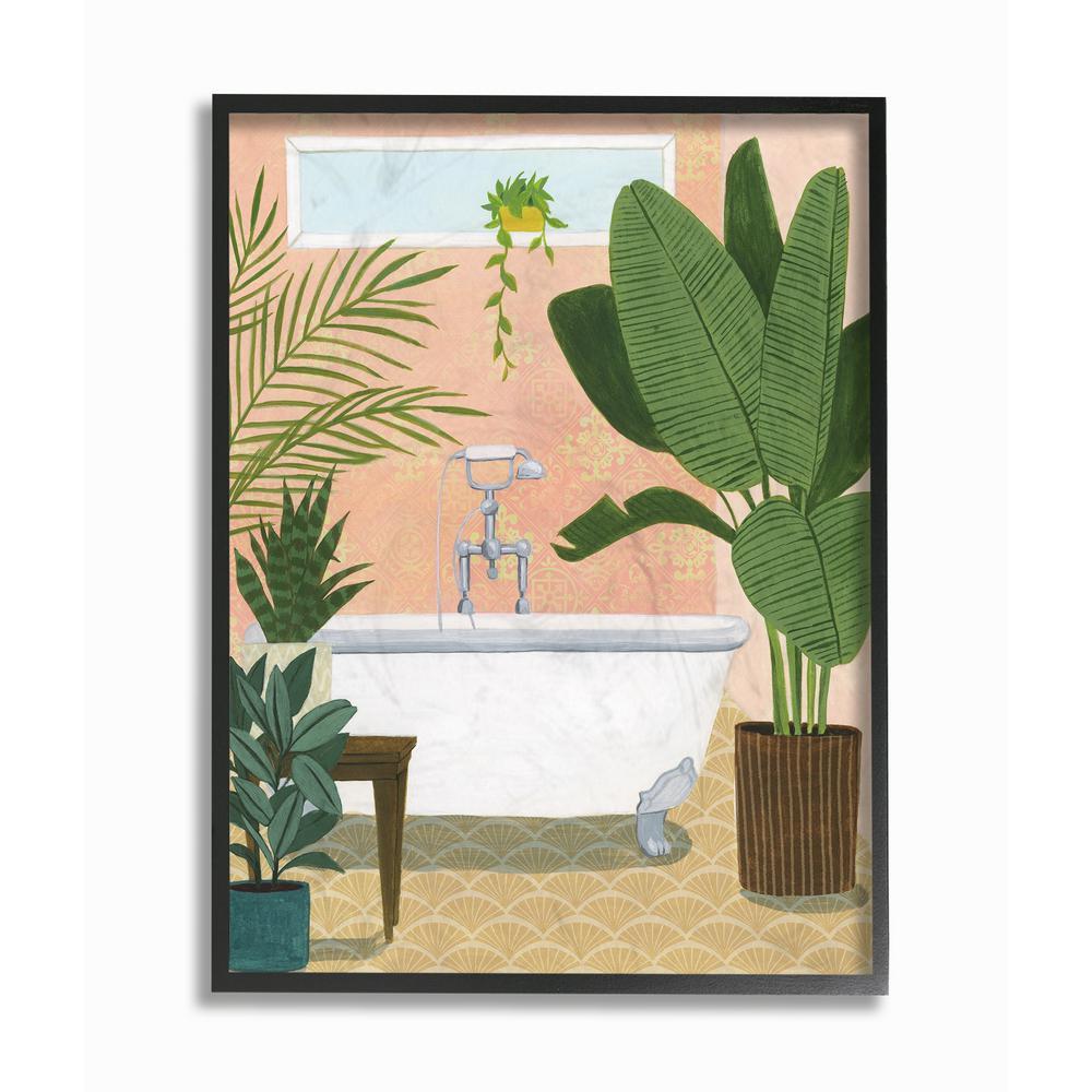 Framed Bath Posters Art Prints Wall Art The Home Depot