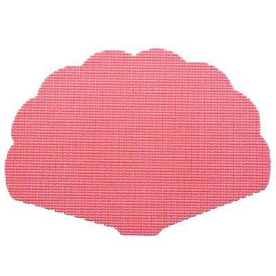 Fishnet Shell Placemat in Honeysuckle (Set of 12)