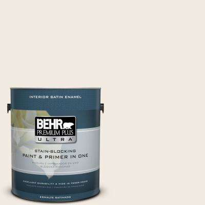 1 gal. #YL-W5 Swiss Coffee Satin Enamel Interior Paint and Primer in One