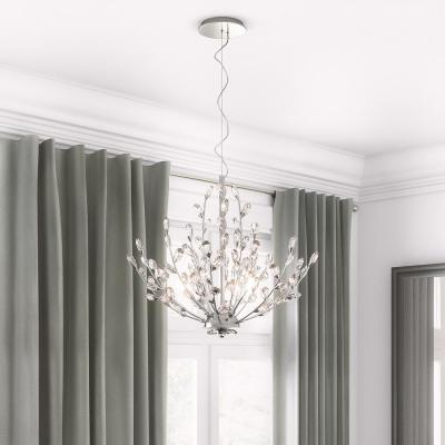 Hetcherson 5-Light Chrome Pendant