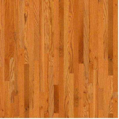 Take Home Sample - Woodale Caramel Oak Solid Hardwood Flooring - 3-1/4 in. x 8 in.